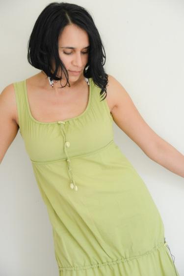 G tessa green dress