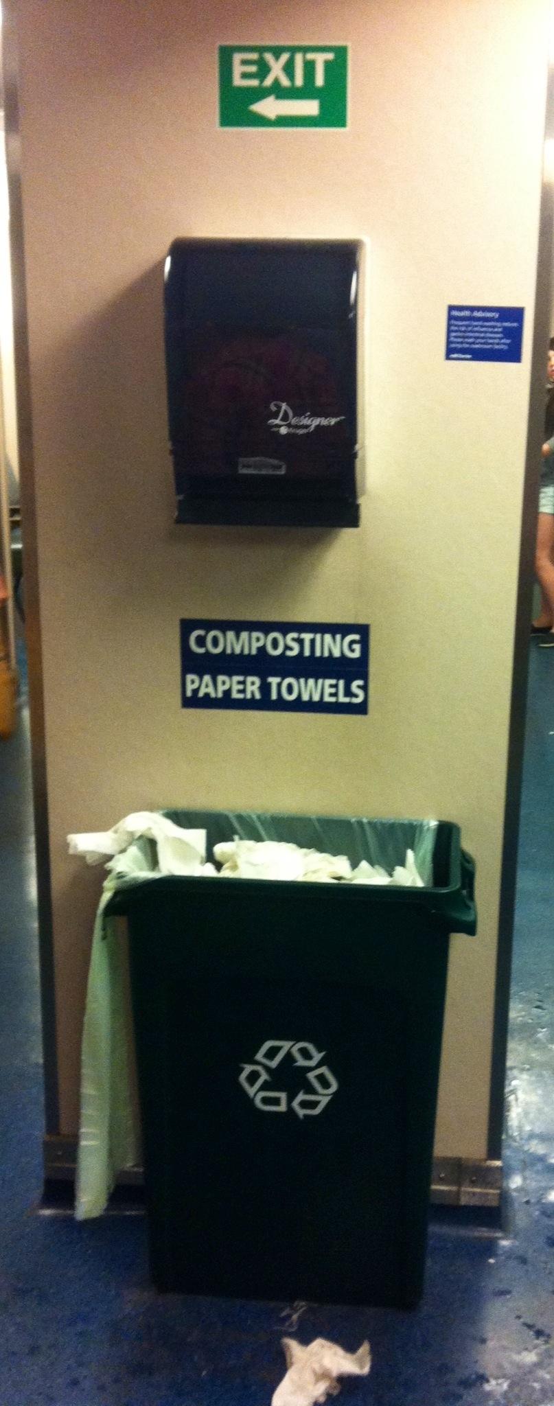 composting used paper towels the deeper side blog by gurdeep stephens. Black Bedroom Furniture Sets. Home Design Ideas