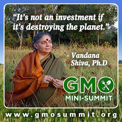 aaagmo mini summit vandana shiva